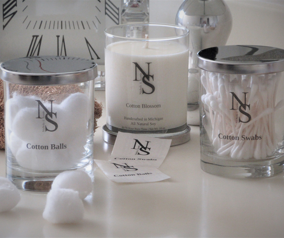 Cotton Blossom Candle