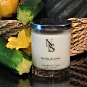 Zucchini Blossom Candle