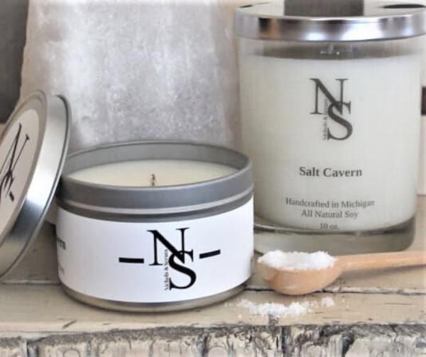 salt cavern candle