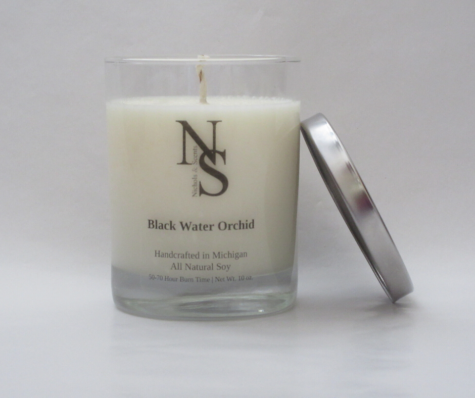 Black Water Orchid Candle