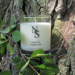 Sequoia & English Oak Candle