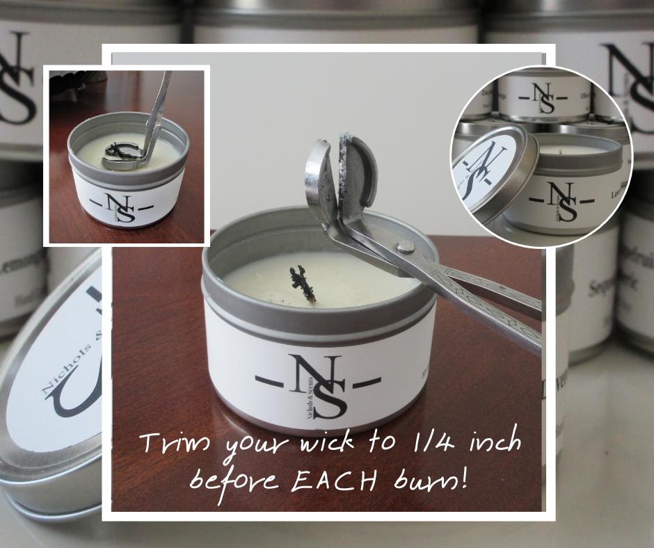 Trim your wick to 1_4inch before EACH burn! (1)